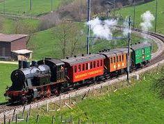 Bildergebnis für dampflok in der Schweiz