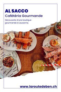 Al Sacco est une cafétéria gourmande située à Lausanne. Elle propose des mets gourmands et fait maison. #lausanne #suisse #cafeteria Lausanne, Brunch, Mets, Eat Right, Switzerland, Morning Breakfast, Homemade, Fine Dining, Greedy People