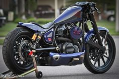 Star Motorcycles Announces Winners in the Bolt Custom Build-Off. Third Place: M&M Customs