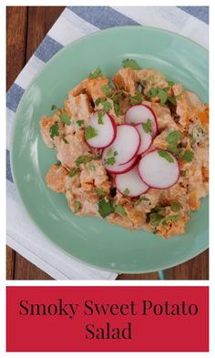 Yates Yummies: Smoky Sweet Potato Salad