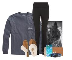 """""""{read d}"""" by ellapearlrose ❤ liked on Polyvore featuring Vineyard Vines, UGG Australia, MICHAEL Michael Kors, Swell, OtterBox and Honora"""