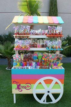 carrito de dulces