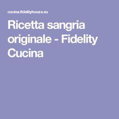 Ricetta sangria originale - Fidelity Cucina