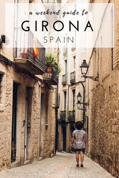 Girona, Spain is the perfect city for a weekend break - here are all the amazing things to do in 48 hours! Things to do in Girona Europe Travel Tips, Spain Travel, Croatia Travel, Hawaii Travel, Italy Travel, Travel Guide, Menorca, Malaga, Granada