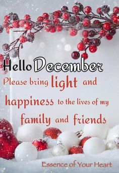 Blessings to you and your family. Welcome December Quotes, Hello December Quotes, Happy December, January, Christmas Quotes, Christmas Wishes, Christmas Time, Merry Christmas, Flower Background Wallpaper