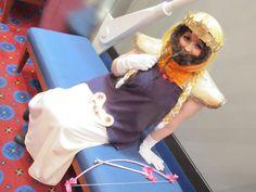 Princess Kenny cosplay