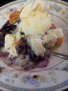 Easy Dessert, different variations - cake mix + pie filling. Similar to a dump cake.