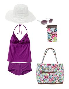 Hittin' the beach with thirty one!  www.mythirtyone.com/carrienaff