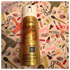 From Target Box: Loreal Hairspray.