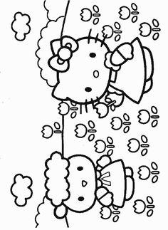 Cartoni animati - Immagini e screensavers Hello Kitty