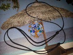 COMPARTIENDO MI IMAGINACIÓN: Colgantes con alambre y rocalla(El árbol de la vid...