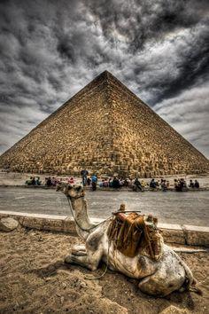 The pyramids.. Egypt.