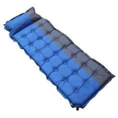 Automatic Inflatable mattress C&ing Mat Outdoor PVC Cushions Inflatable Air Mattress C&ing Sleeping Pad With Pillow  sc 1 st  Pinterest : floor mats for tents - memphite.com