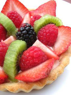 Fruit Tarts - A Hint of Honey