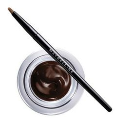 Maybelline New York Eyestudio Lasting Drama Gel Eyeliner - Brown Maybelline Gel Eyeliner, Brown Line, Drama, How To Apply, Make Up, Skin Care, Vanity, York, Shop