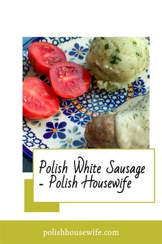 Polish White Sausage or biała kiełbasa is a garlicky fresh (not smoked) sausage that has so many uses. If you've had żurek or white barczsz at Easter, this is the sausage that goes in those soups. White Sausage, Polish Easter, Great Recipes, Favorite Recipes, Thing 1, Easter Traditions, Polish Recipes, What To Cook, Housewife