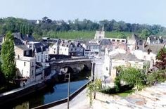 The Loire town of Segre, France