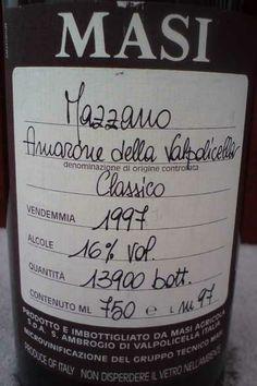 Masi Mazzano Amarone Della Valpolicella Classico | http://www.snooth.com | #wine