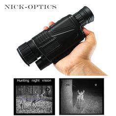 Hunting Night-Vision Monocular 2017 Tactical Infrared Night Vision Telescope Military HD Digital Monocular Telescope Powerful