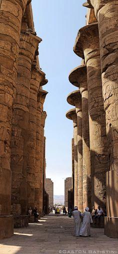 Temple of Karnak, Louxor , Egypt