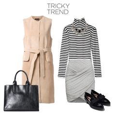 """sleeveless coat"" by itsmytimetoshinecoco ❤ liked on Polyvore featuring The Row, Edith A. Miller, French Connection, Wet Seal, Zara, women's clothing, women's fashion, women, female and woman"