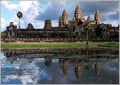 The Ruins of Angkor in Siem Reap, Cambodia
