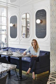 Gracias a su madre, diseñadora de interiores, Dorothée Meilichzon descubrió de niña la importancia de las texturas, la variedad de los estampados. La paris