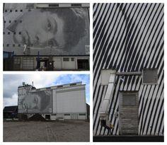 WALK THIS WAY - Wallscape vonSten Lex, Museum for Art in Public Space, Køge, Dänemark, Fotos: kalevkevad