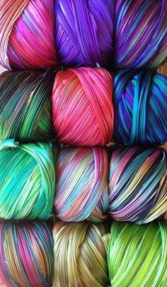 chasingrainbowsforever: Silk Shibori Ribbon ♥