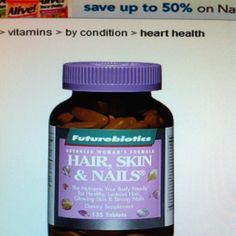 BEST vitamin for your hair. Makes it grow faster and look great.