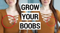 7 Exercises to GROW Your Boobs | Chest Workout For Women Boob science