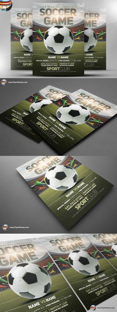 Tour Travel Agency Flyer Template Poster Templates $600 - soccer flyer template