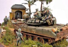 Sheridan Tank, Good Morning Vietnam, Military Action Figures, Tiger Ii, Model Maker, Model Tanks, Military Modelling, Toy Soldiers, Plastic Model Kits