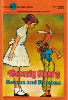another childhood fave - beverly cleary's Ramona books were the best!