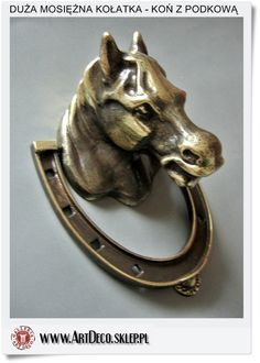 knocker - Polish horse figurine Crafts