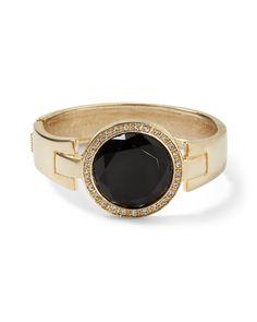 Black Crystal Pave Bracelet