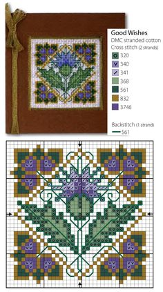 Cross Stitch Patterns for Cards