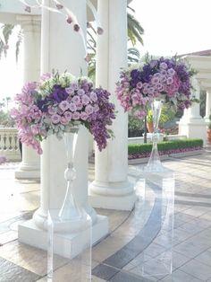 Flower Stands Tall Flower Arrangements Roses