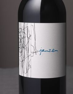 Janzen Wine Bacio Divino Cellars Cloudy Vineyard Wine Label & Package Design Napa Valley