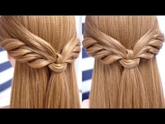 Peinados con media cola fácil y bonito DIY | Belleza