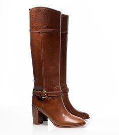 Daniela High Heeled Riding Boot   by Tory Burch | Swirl