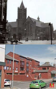 St George Church, the corner of Princess Road and Linthorpe Road, Middlesbrough.