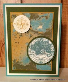 Pals Paper Crafting Card Ideas Global Mary Fish Stampin Pretty StampinUp