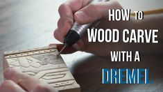 How to Wood Carve/Power Carve with a Dremel - Make a Gift Box! Woodworking Journal, Woodworking Projects, Youtube Woodworking, Woodworking Patterns, Dremel Tool Projects, Wood Projects, Dremel Ideas, Wooden Gift Boxes, Wooden Gifts
