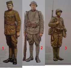 Royal Yugoslavian army uniforms