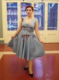 Halloween 2013: Abaddon (Supernatural).  Thought of you Samantha! Hopefully we can find you a dress like that!