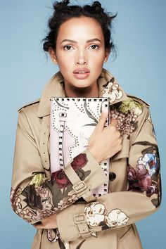 INSPIRE: The dream embroidery situation... Swooning over this Valentino trench.