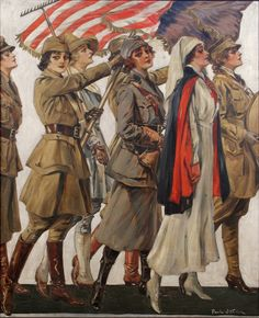 Mobilizing American Women.  Paul Stahr, 1919.