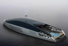 SVETI mega yacht concept by Pastrovich