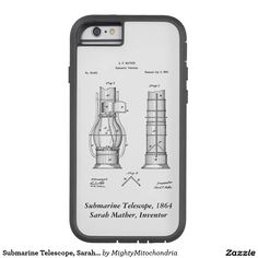 Submarine Telescope, Sarah Mather Girl Cases, Telescope, Iphone Case Covers, Laptops, Iphone 6, Laptop, The Notebook